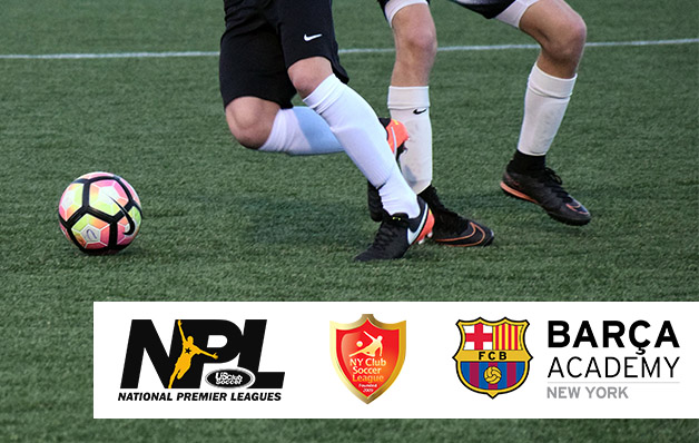 FC Barcelona Academy to become NPL member; joins New York Club Soccer League's NPL Division beginning with 2017-18 season